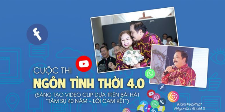 Tập đoàn Tân Hiệp Phát tổ chức cuộc thi 'Ngôn tình thời 4.0'