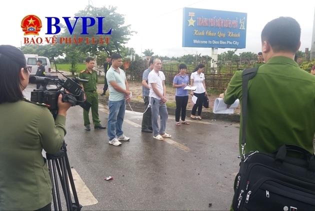 Toàn cảnh thực nghiệm hiện trường vụ án nữ sinh giao gà ở Điện Biên