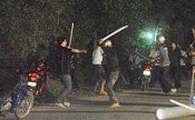 Hải Dương: Điều tra vụ hai nhóm thanh niên hỗn chiến gây náo loạn trong đêm