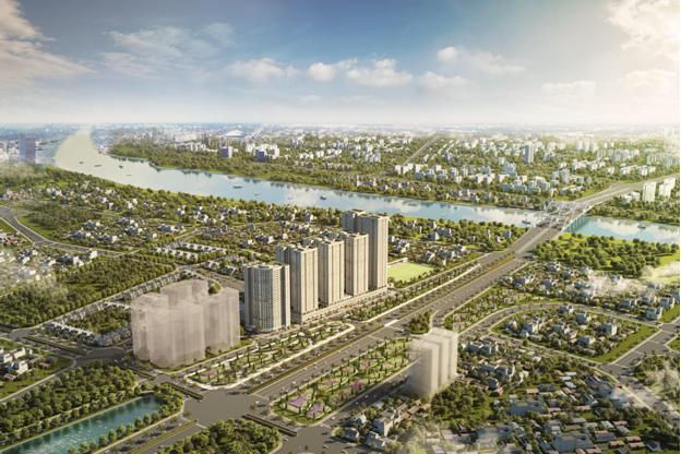 Thành phố mới với những công trình 'vươn tầm thế kỷ' bên sông Hồng