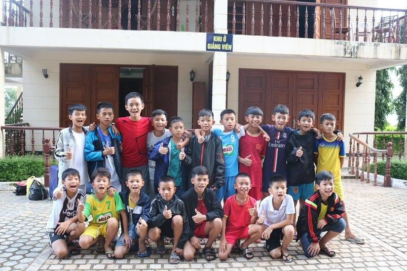 Lê Vũ Thái trở thành thành viên của Học viện HAGL JMG
