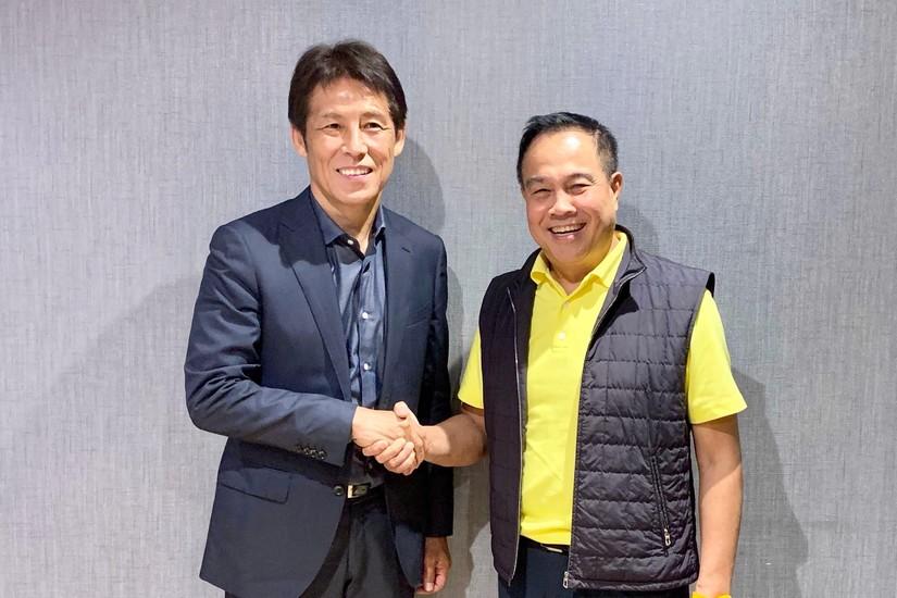 HLV Akira Nishino chính thức trở thành HLV trưởng đội tuyển Thái Lan