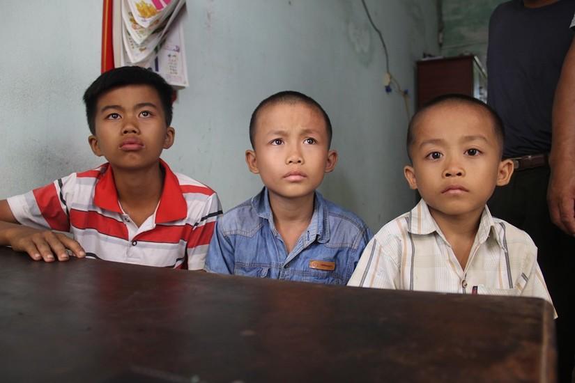 Công an huyện Anh Sơn thông tin vụ 3 bé trai nghi bị bắt cóc