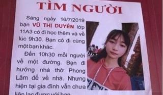 Nữ sinh lớp 11 mất tích bí ẩn sau buổi học thêm