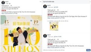 Tin tức sao việt 18/7: MV Hãy trao cho anh của Sơn Tùng M-TP cán mốc 100 triệu view