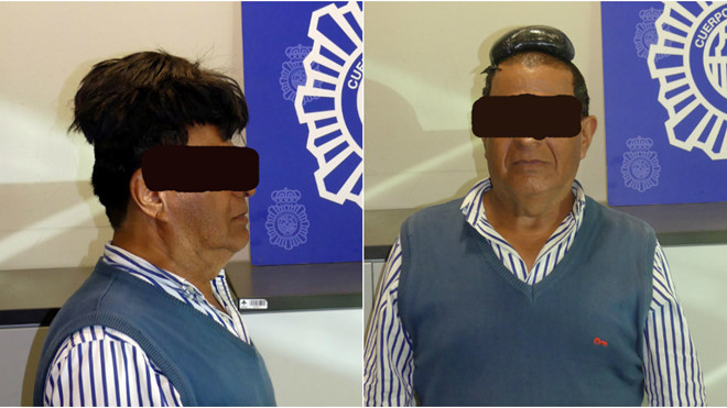 Giấu ma túy dưới mái tóc giả không cân xứng, người đàn ông bị tóm gọn