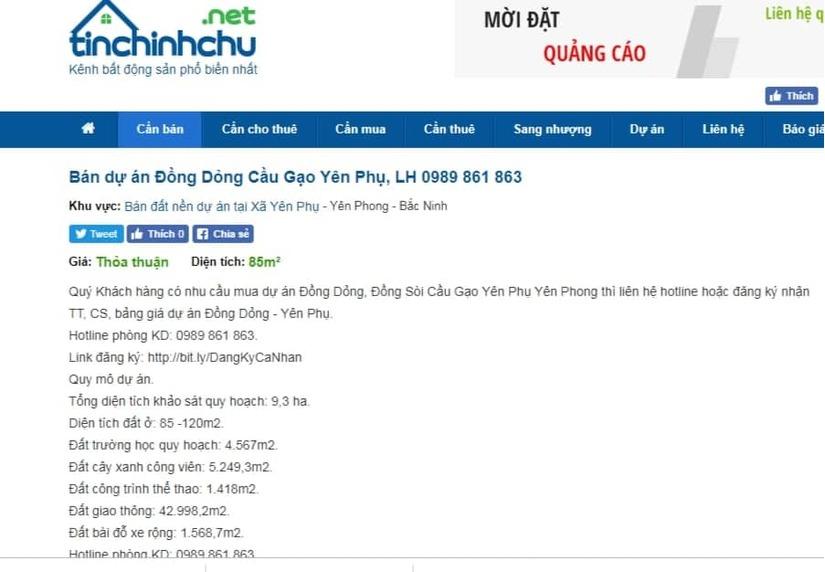 """Bắc Ninh: Dự án Khu nhà ở Cầu Gạo """"cầm đèn chạy trước ô tô"""" khách hàng cẩn trọng xuống tiền?3"""