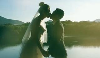 Cường Đô la và Đàm Thu Trang tung clip khoá môi cực ngọt ngào