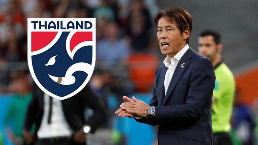 HLV Akira Nishino tự tin cùng bóng đá Thái Lan chinh phục vòng loại World Cup