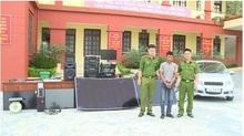 Bắt đối tượng thực hiện hàng loạt vụ trộm cắp tài sản tại đình chùa