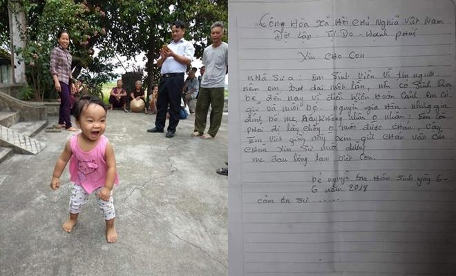 Nam Định: Cuộc sống mới của bé gái hơn 1 tuổi bị bỏ rơi để mẹ đi lấy chồng