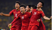 Đội tuyển Việt Nam đón tin vui trước trận làm khách của Thái Lan