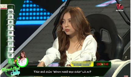 Khán giả ngao ngán khi bạn gái Quang Hải không biết tác giả 'Bình Ngô đại cáo' là ai