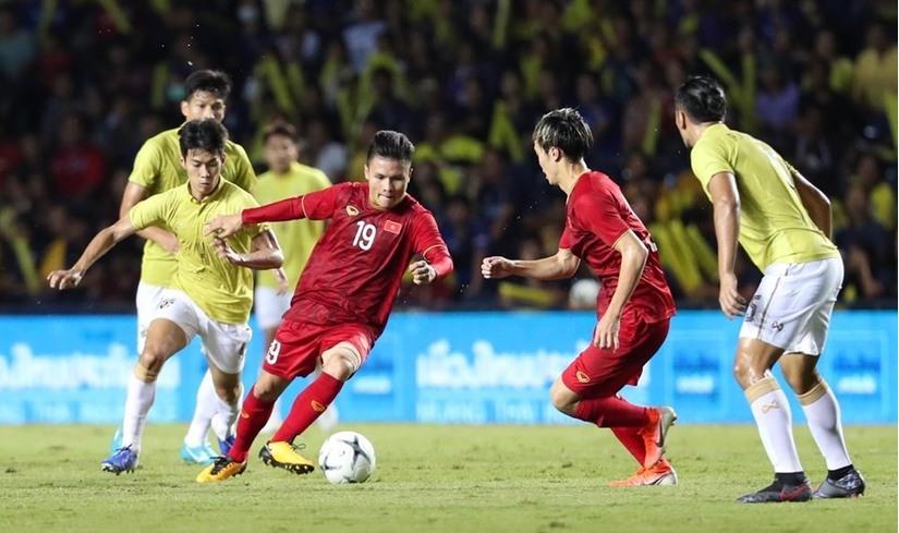 đội tuyển Việt Nam chỉ có hai buổi tập duy nhất, vào sáng và chiều ngày 4/9