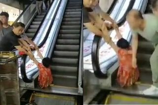 Người phụ nữ phải cưa bỏ chân trái sau khi bị 'nuốt' vào thang cuốn