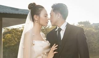 Ngắm trọn bộ ảnh cưới của Đàm Thu Trang và Cường Đô la