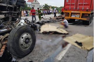 Danh tính 6 nạn nhân vụ tai nạn thảm khốc ở Hải Dương