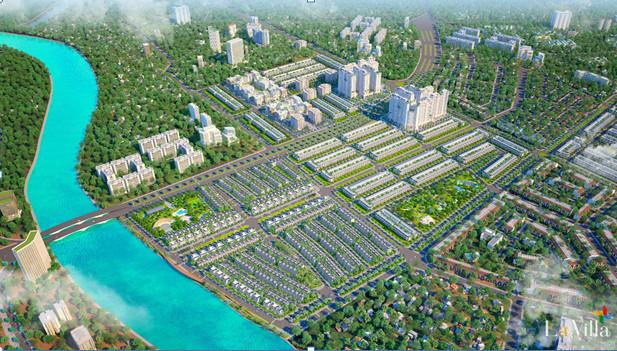 Khu đô thị La Villa Green City bên dòng Vàm Cỏ Tây do Tran Anh Group phát triển