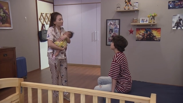'Về nhà đi con' tập 75: Nhã 'lật bài ngửa' khiến Vũ choáng váng