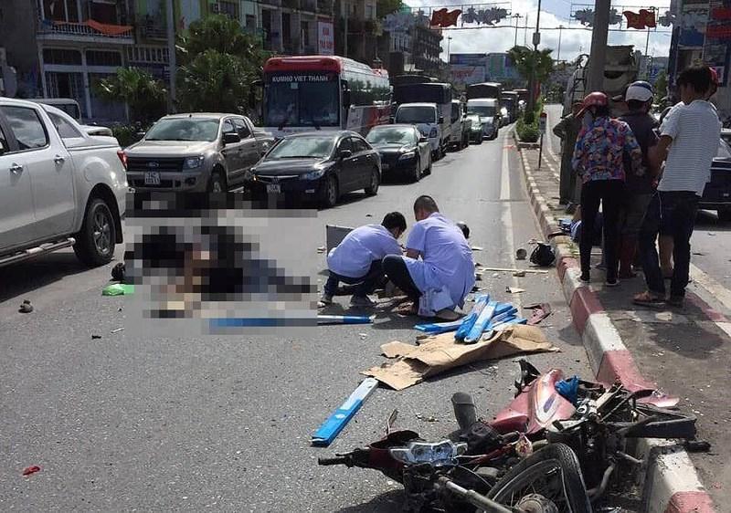 Tài xế xe khách tông 5 người thương vong âm tính với ma túy