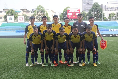 đội tuyển U15 PVF tham dự giải giao hữu tại Thái Lan trong ít ngày tới