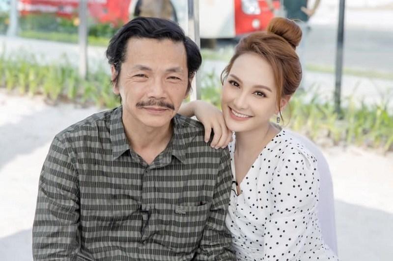 Bảo Thanh xúc động mừng 'bố' Trung Anh được phong tặng NSND