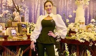 Dự đám cưới Cường Đô la, Kỳ Duyên khoe giảm 10kg