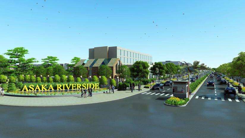 Dự án Asaka Riverside do Công ty Cổ phần Địa ốc Thành Nam làm chủ đầu tư