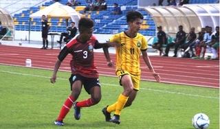 Đội tuyển U15 Timor Leste liên tục gây sốc ở vòng chung kết U15 ĐNÁ