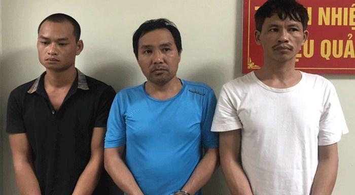 Bắt ba đối tượng vận chuyển gần 1 tấn pháo trái phép từ Lạng Sơn về Bắc Giang
