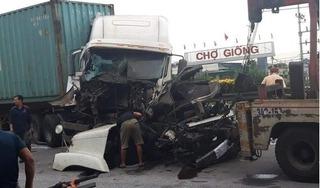 Lại xảy ra tai nạn gần vị trí xe tải lật đè 5 người tử vong ở Hải Dương
