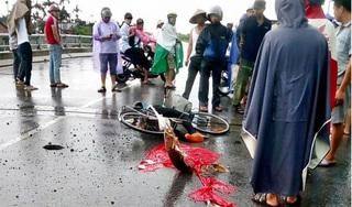 Đi làm về gặp mưa, Phó công an huyện bị sét đánh nguy kịch