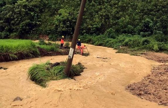 Điện Biên: 2 trẻ em tử vong và mất tích do mưa lũ