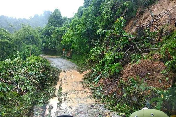 Lạng Sơn: Mưa lớn gây ngập cầu, nhiều thôn bản bị cô lập4