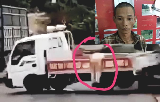 Tin mới nhất vụ tài xế chở gỗ lậu tông xe, hất văng đại úy CSGT