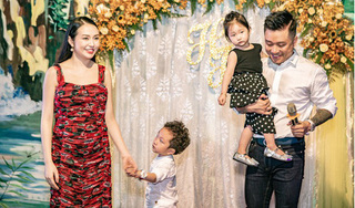 Vợ chồng Tuấn Hưng đón con thứ ba chào đời