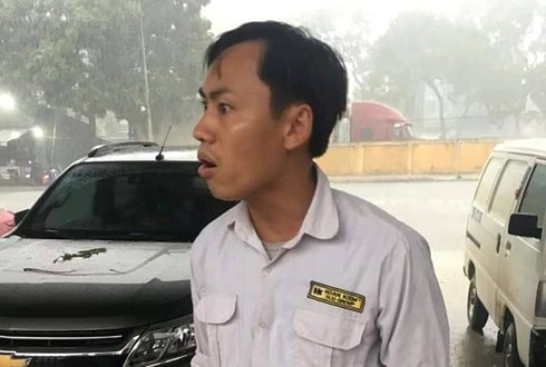 Công an đã mời tài xế taxi Nguyễn Ngọc Tuyền lên làm việc.