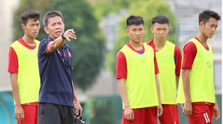 HLV Hoàng Anh Tuấn chốt quân số, tự tin cho trận mở màn U18 ĐNA 2019