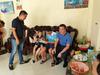 CLB Nam Định tới thăm bé trai bị bất tỉnh trên sân Thiên Trường