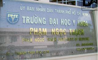 Điểm chuẩn Đại học Y khoa Phạm Ngọc Thạch 2019 cao nhất 24,65 điểm