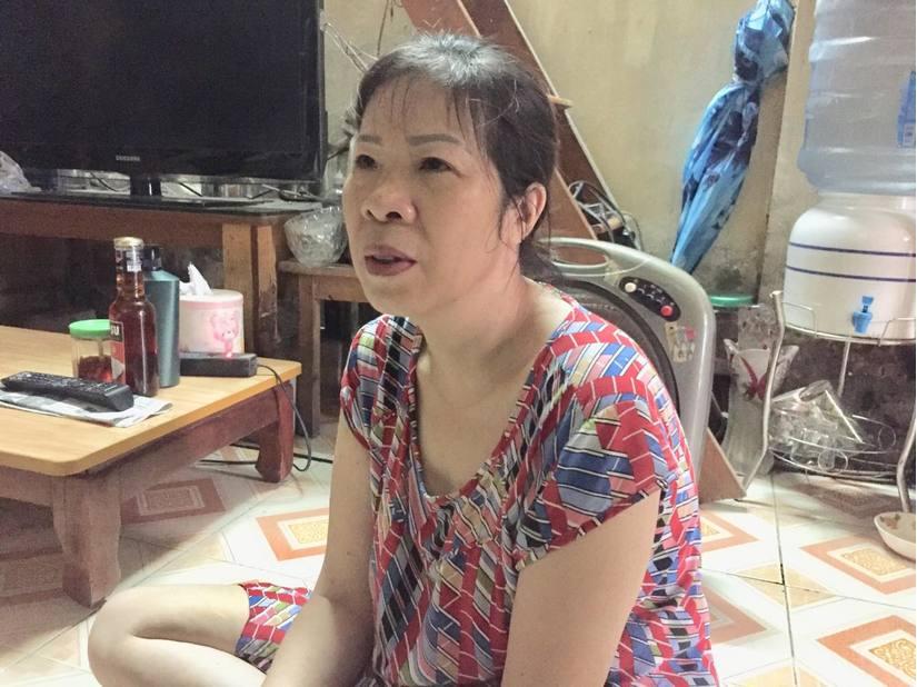 Bà Quy lo sợ đi tù không ai nuôi 2 con