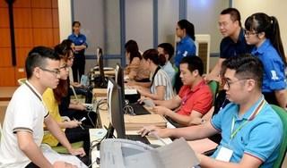 Hàng nghìn thí sinh trúng tuyển Đại học bắt đầu làm thủ tục nhập học