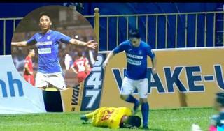 Phẫn nộ hành vi phi thể thao của cầu thủ Quảng Ninh trong trận gặp Nam Định