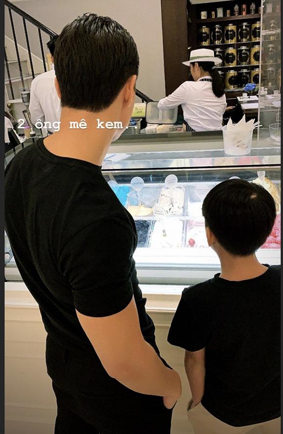Hồ Ngọc Hà chia sẻ ảnh bạn trai Kim Lý và Subeo chung một sở thích đặc biệt