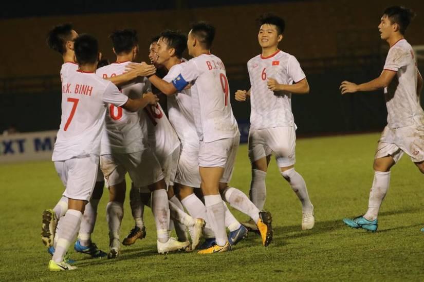 Đội tuyển U18 Việt Nam có chiến thắng đậm trước Singapore