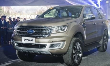 Ford Everest 2020 giá từ 884 triệu đồng