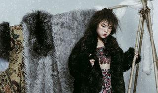 Mẫu nhí 8 tuổi - Trần Phương Anh gây sốt khi khoe vẻ đẹp độc lạ