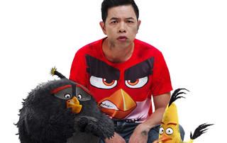 Diễn viên Thái Hòa tiếp tục lồng tiếng cho Angry Birds phần 2