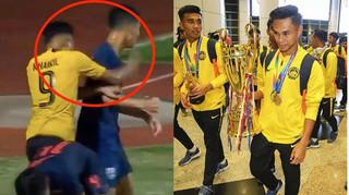 Đội trưởng U15 Malaysia tiết lộ lý do đấm cầu thủ của Thái Lan ở trận chung kết ĐNÁ