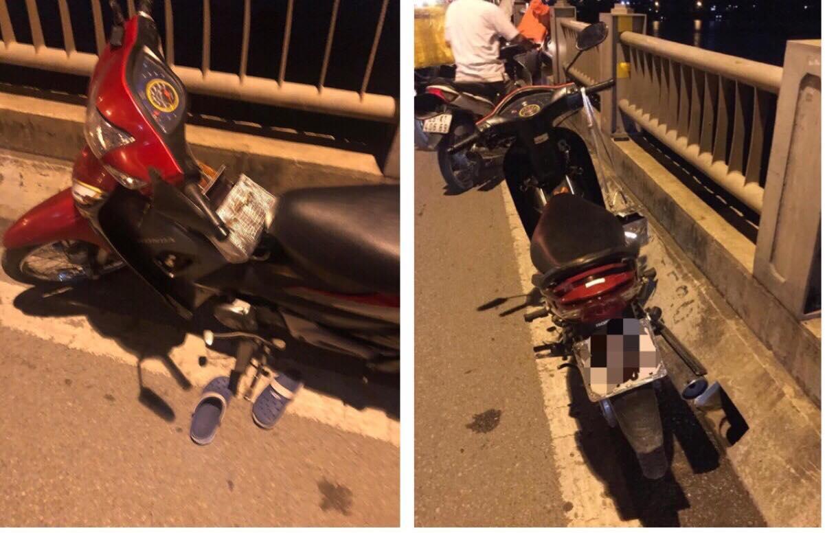 Để lại xe máy cùng lá thư, cô gái trẻ nhảy cầu Vĩnh Tuy tự tử trong đêm